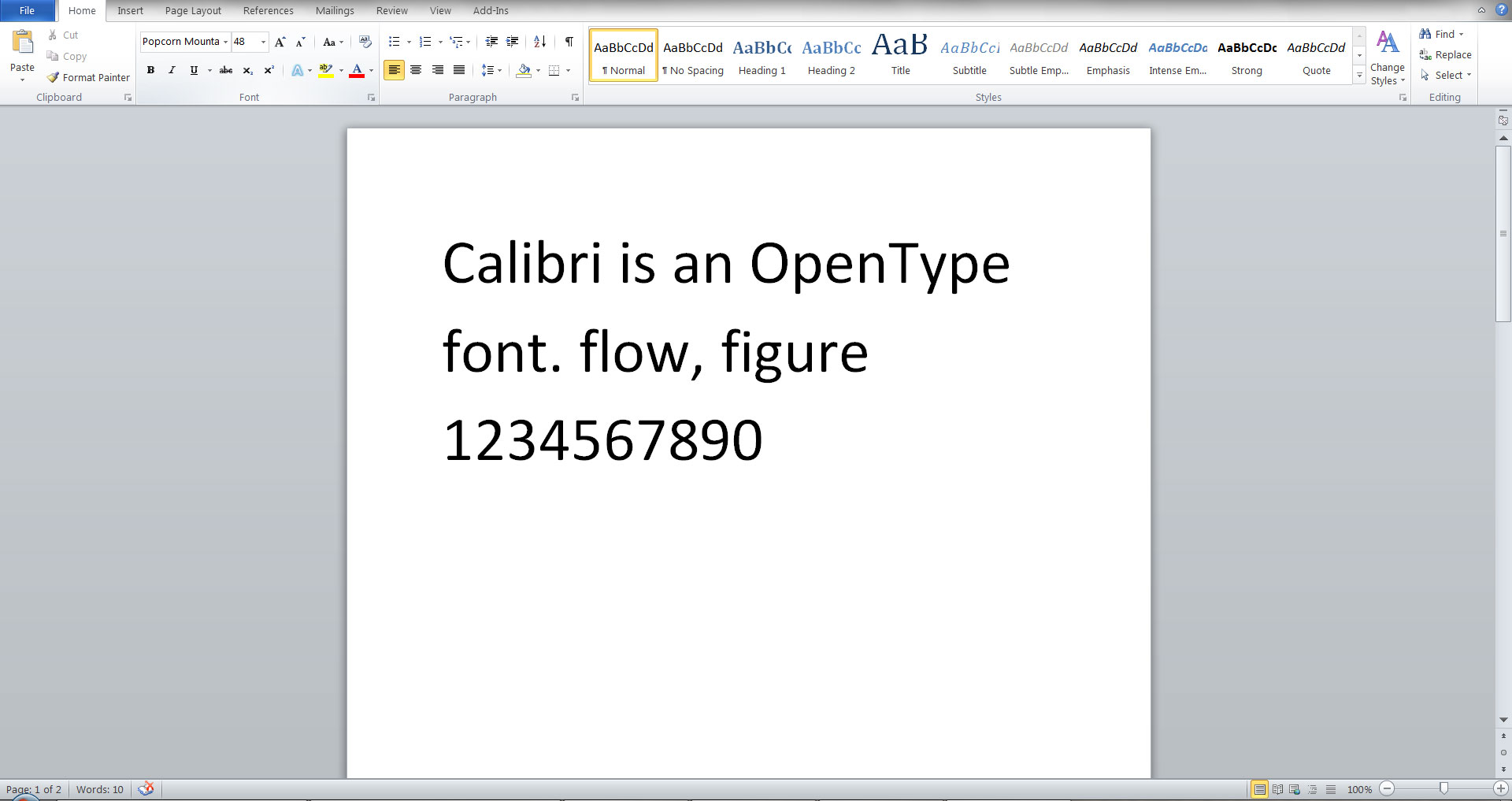 how to make letters appear smooth in microsoft word